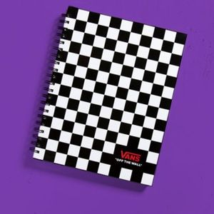 VANS NOTEBOOK checkerboard